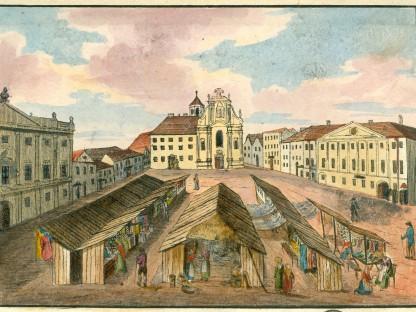 St. Pöltner Kalender mit historischen Ansichten