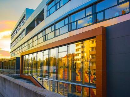 Außenansicht Fachhochschule St. Pölten. (Foto: Martin Lifka)