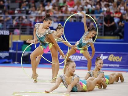 Gruppen Staatsmeisterschaft in Rhythmischer Gymnastik in St. Pölten