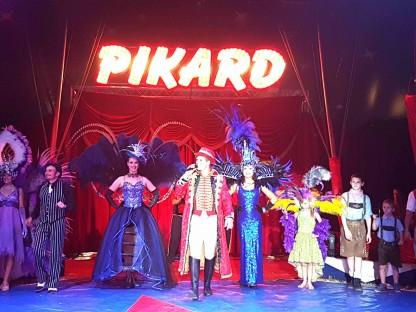Circus Pikard kommt in die Stadt