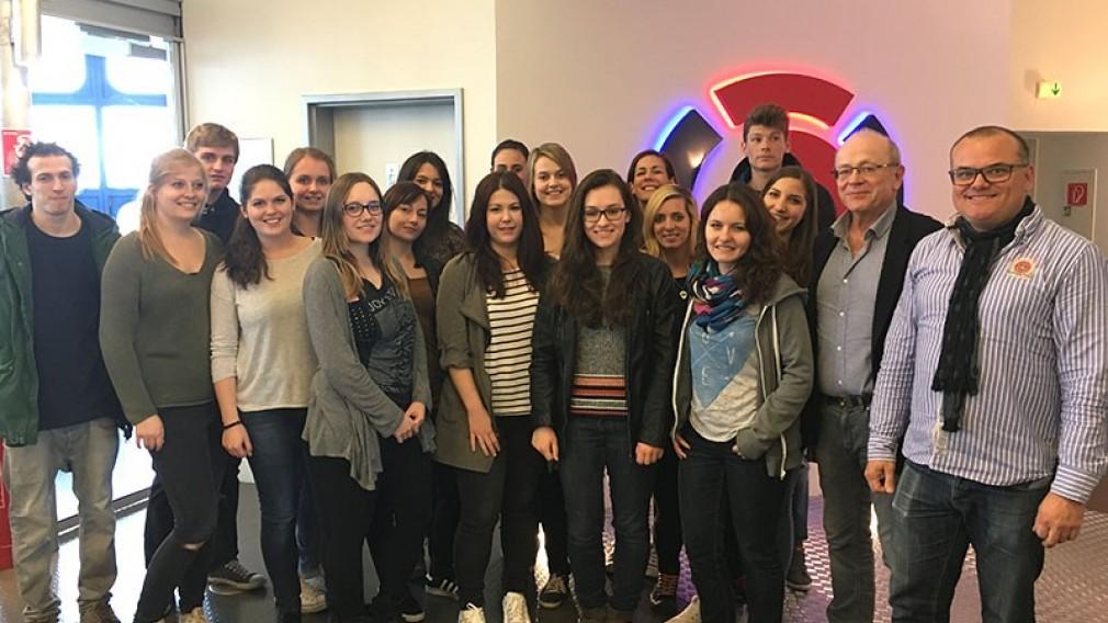 Studierenden-Exkursion zum Radiosender Ö3