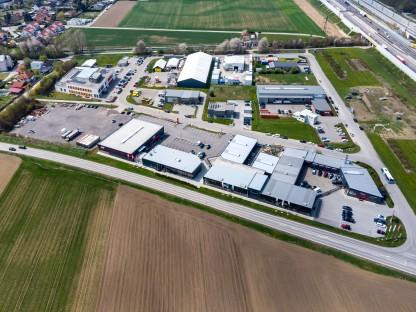 Luftaufnahme des Gewerbegebiets St. Pölten-Ost Harland. (Foto: SEPA Media)