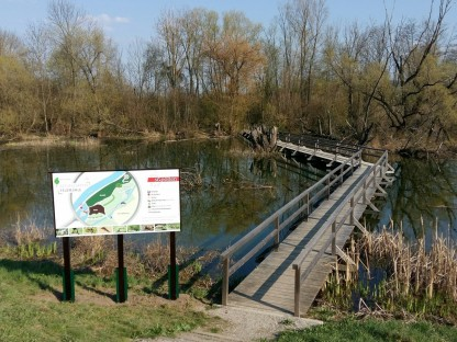 Neue Infotafeln für den Naturlehrpfad Feldmühle