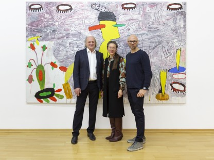 DOK-NÖ Leiter Leopold Kogler mit Eröffnungsrednerin Angela Stief und Klaus Ludwig Kerstinger. (Foto: Sonja Dürnberger)