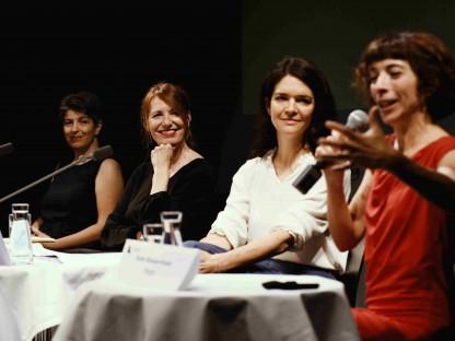 Olivia Khalil, Marie Rötzer, Julia Engelmayer und Ruth Brauer-Kvam. (Foto: Alexi Pelekanos)
