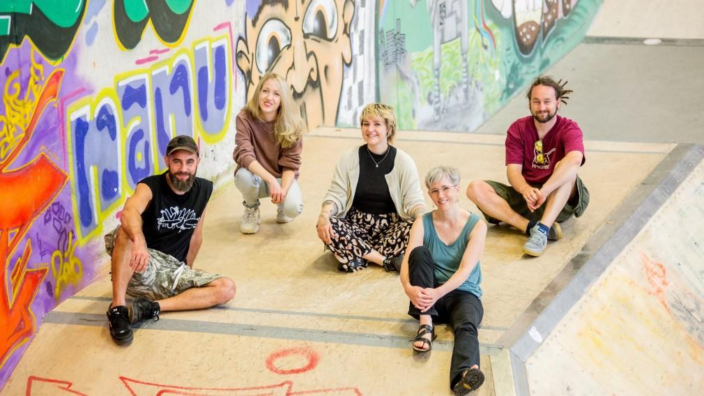 Das Team vom Jugendzentrum Steppenwolf. (Foto: Tanja Wagner)