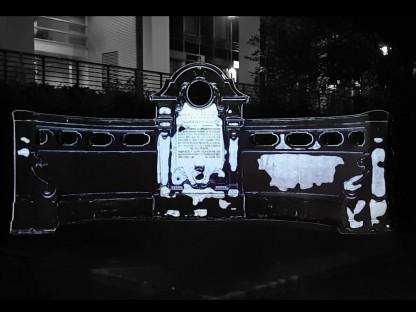 Das Franz-Joseph-Denkmal mit Projektionsmapping-Installation. (Foto: spiritsociety)