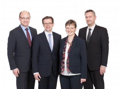 DI Andreas Karner, DI Josef Wolfbeißer, Mag. Mag.(FH) Brigitte Hatvan und Ing. Heinrich Preiss (Foto zur Verfügung gestellt)