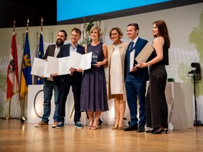 Team der FH St. Pölten beim Wissenschaftspreis Niederösterreich ausgezeichnet