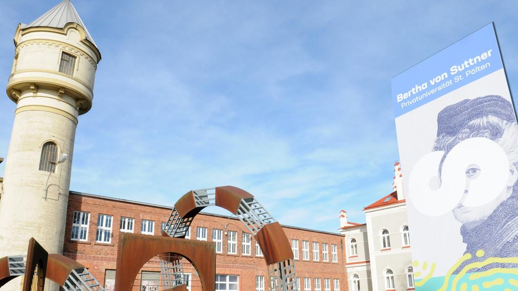 Bertha von Suttner-Privatuniversität Campus, Copyright A. Reischer