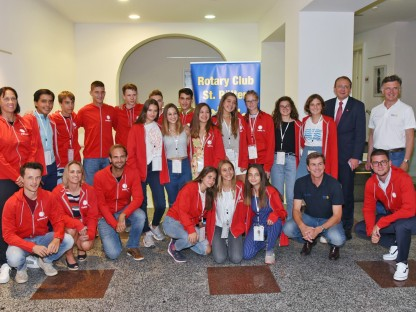 Drittes internationales Tenniscamp des Rotary Clubs