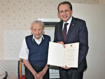 Ältester St. Pöltner wurde 105