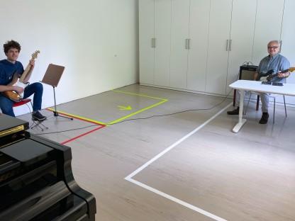 Distance Learning in der Musikschule (Foto: Franz Helfersdorfer)