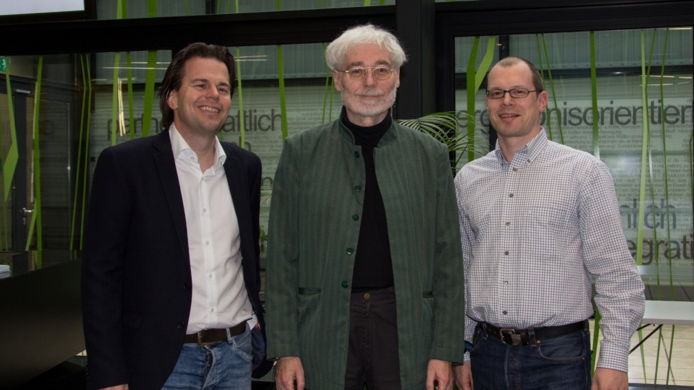 Psychotherapeut Reinhard Skolek zu Gast an der FH St. Pölten