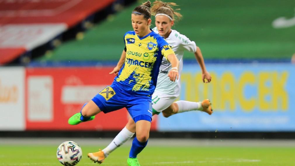 Fußballmatch SKN Frauen. (Foto: Tom Seiss)