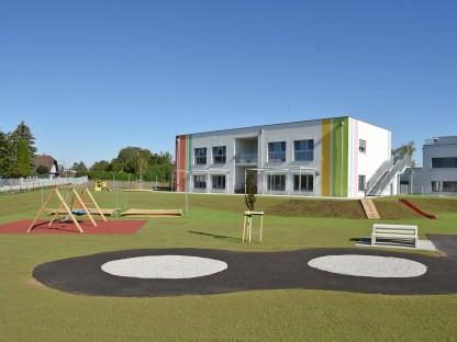 Kindergarten am Eisberg Außenansicht. (Foto: Josef Vorlaufer)