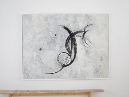 """Ein modernes Kunstwerk der Ausstellung """"Blickwelten"""" im DOK NÖ. (Bild: Christine de Pauli)"""