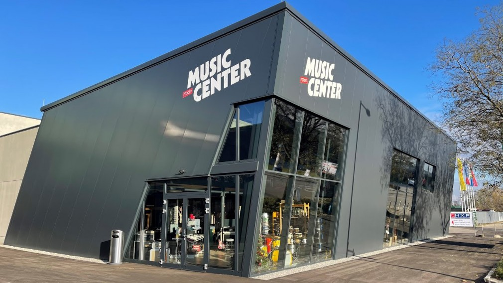 NXP Music Center Außenansicht. (Foto: NXP)