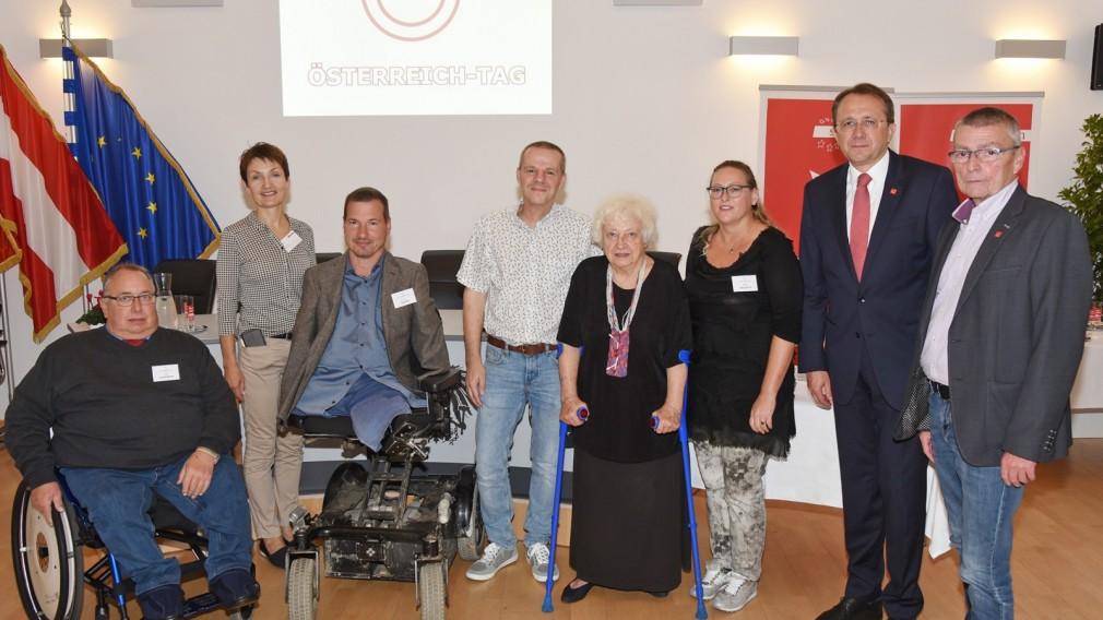 """Österreich-Tag informierte zum Thema """"Blickpunkt Behinderung – wie gelingt ein Miteinander?"""""""