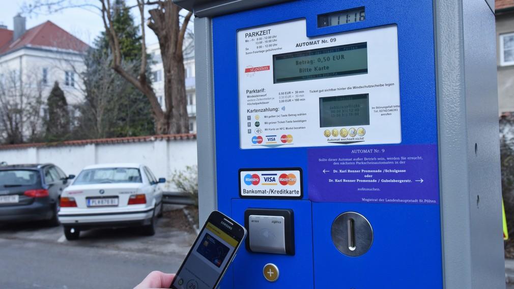 Parkscheinautomat. (Foto: Josef Vorlaufer)