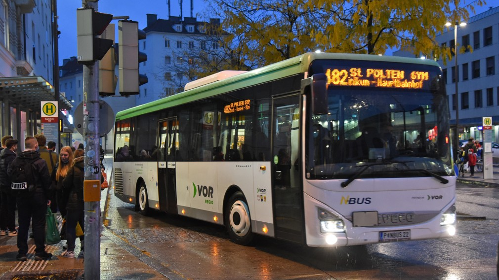 Regionalverkehr Bus des VOR. (Foto: Josef Vorlaufer)