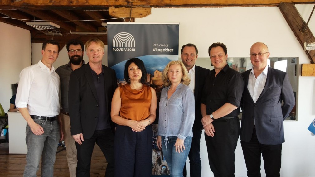 Delegation besuchte die Kulturhauptstadt Plovdiv