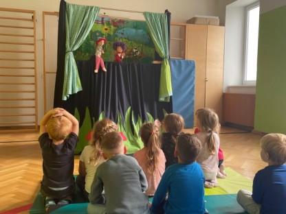 Kasperltheater im Kindergarten. Foto: Kiga Ratzersdorf