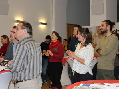 Smartup Forum im Rathaus St. Pölten. Anmerkung: das Foto ist vor der Corona-Pandemie entstanden. (Foto: Petra Fischer)
