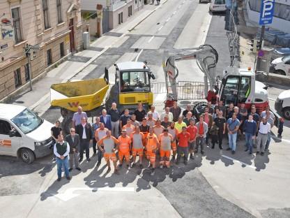 Die Arbeiten am Linzertor sind beendet und die Straßen für den Verkehr wieder geöffnet. Die beteiligten Firmen waren allen Herausforderungen gewachsen und sorgten für einen erfolgreichen Abschluss des Projektes. Foto: Josef Vorlaufer