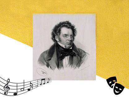 Franz Schubert Zeichnung Portrait. (Foto: Stadtarchiv)