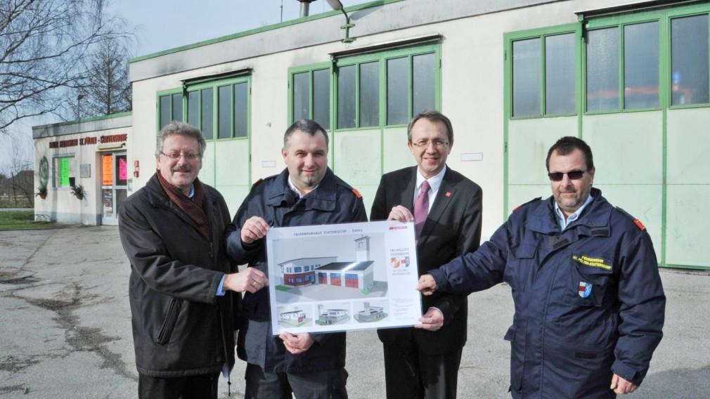Neues Feuerwehrhaus für Stattersdorf