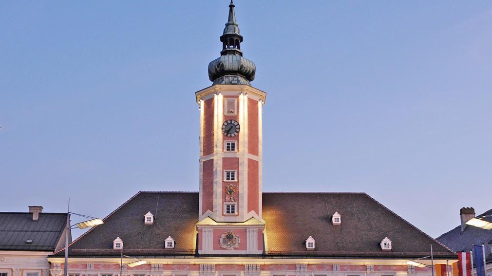 St. Pöltner Rathaus. (Foto: Josef Vorlaufer)