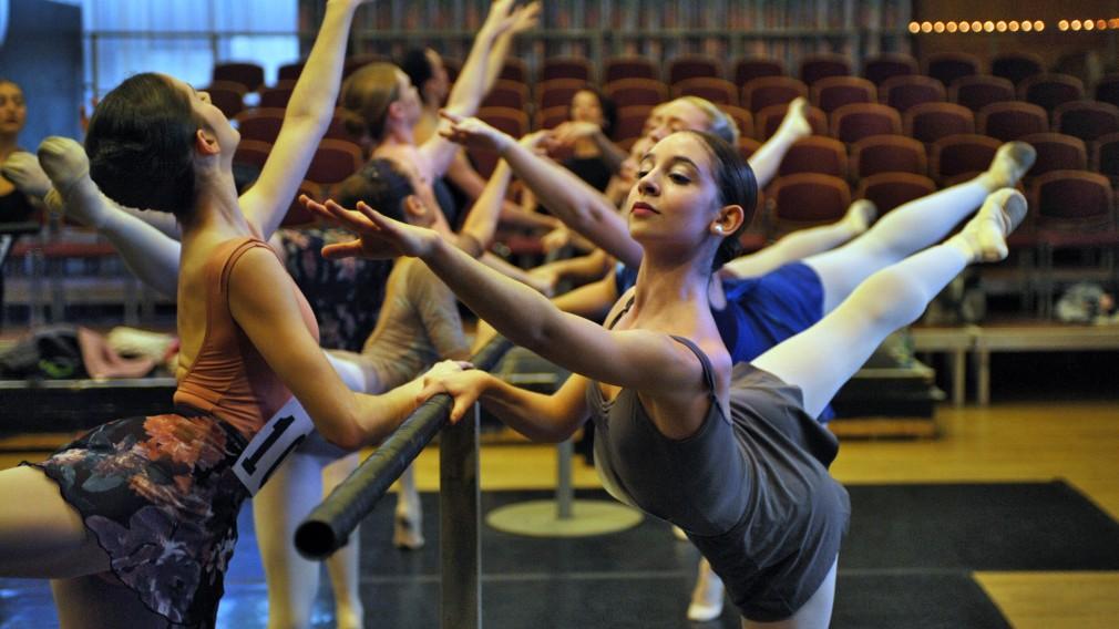 Ballettänzerinnen. (Foto: Wolfgang Mayer)