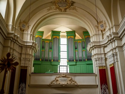 Orgel Prandtauerkirche. (Foto: Arman Kalteis)