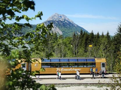 Mariazellerbahn - Himmelstreppe Zugwaggon. (Foto: Weinfranz)