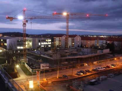 Baustelle Fachhochschul-Campus