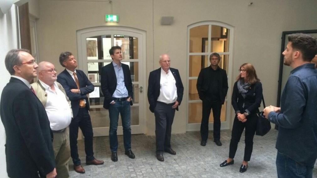 Wirtschaftsdelegation besuchte Regensburg