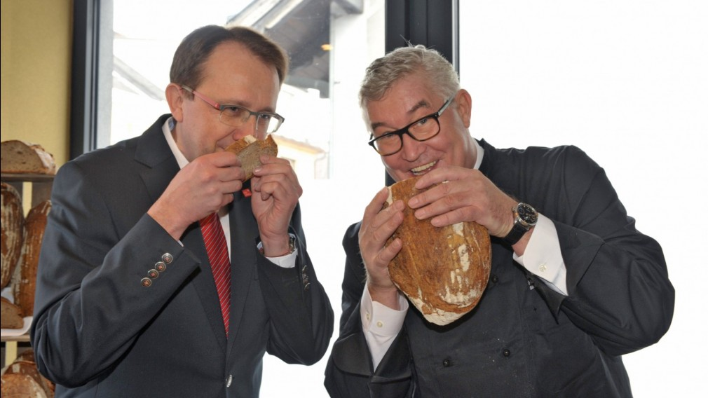 St. Pöltner Brot wurde präsentiert
