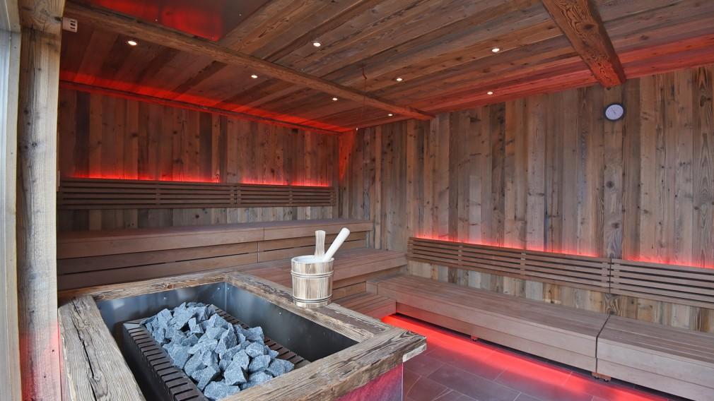 Bild von der Sauna in der Aquacity. (Foto: Vorlaufer)