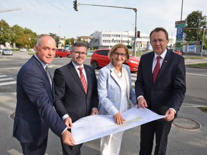Europaplatz soll durch Umbau sicherer werden