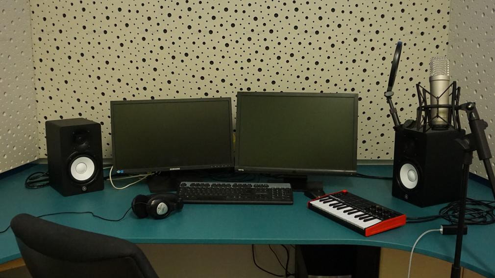 Das neue Tonstudio im Jugendzentrum Steppenwolf. (Foto: Tanja Schönanger)