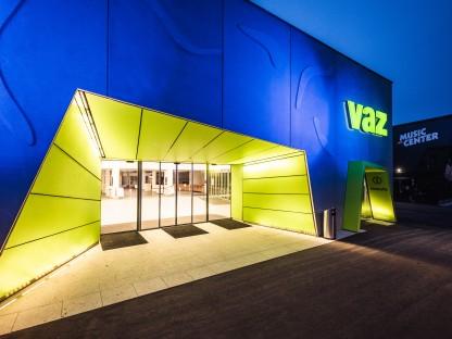 Das VAZ St. Pölten, Außenaufnahme. (Foto: Köstler)