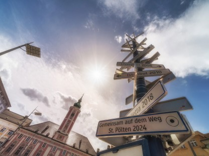 Kulturhauptstadt Europas 2024: St. Pölten und das Land Niederösterreich gratulieren Bad Ischl zum Zuschlag