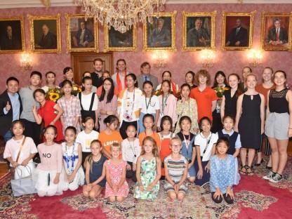 Ballettdelegation aus Peking zu Gast in St. Pölten