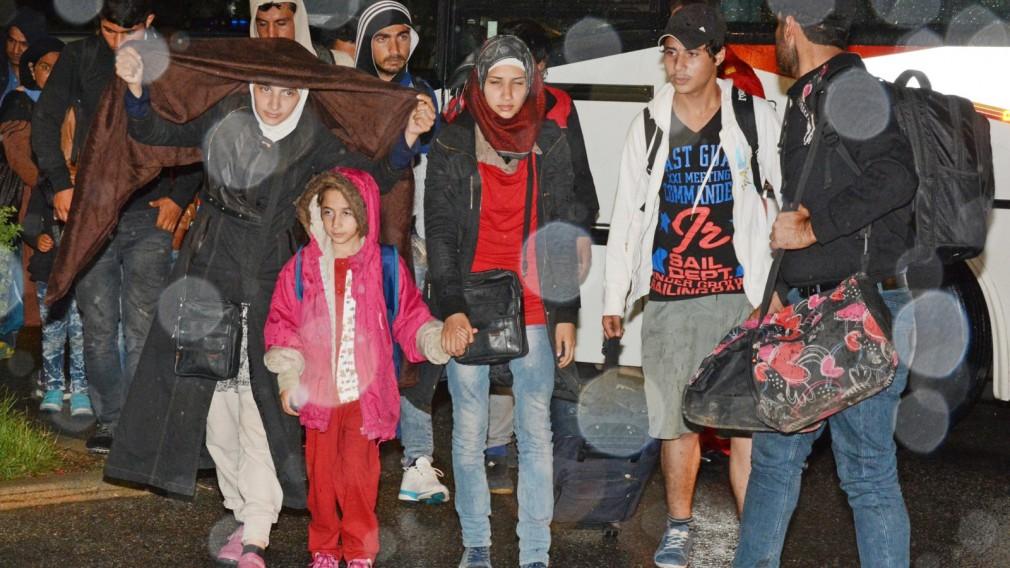 300 Flüchtlinge sind angekommen