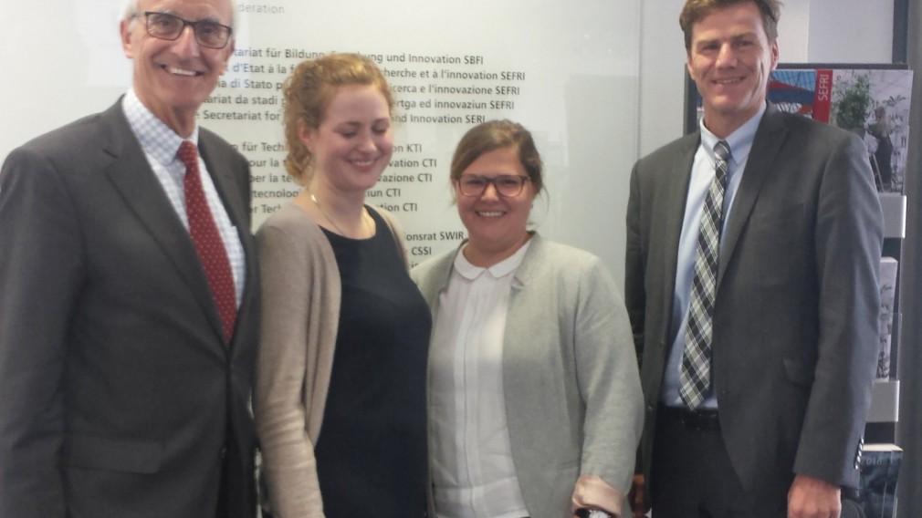 Treffen mit Schweizer Bildungsexperten