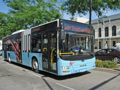 Der St. Pöltner Stadtbus LUP (Foto: Josef Vorlaufer)
