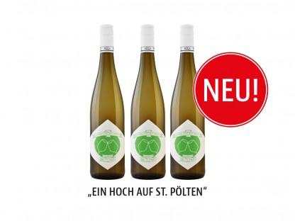 """Hauptstadtwein 2020 """"Ein Hoch auf St. Pölten"""". (Foto: Peter&Paul)"""