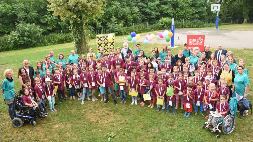 Kindergruppe bei der Sommerakademie. (Foto: Josef Vorlaufer)