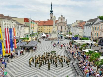 40 Jahre Partnerschaft: Stadt und Militärkommando NÖ feiern